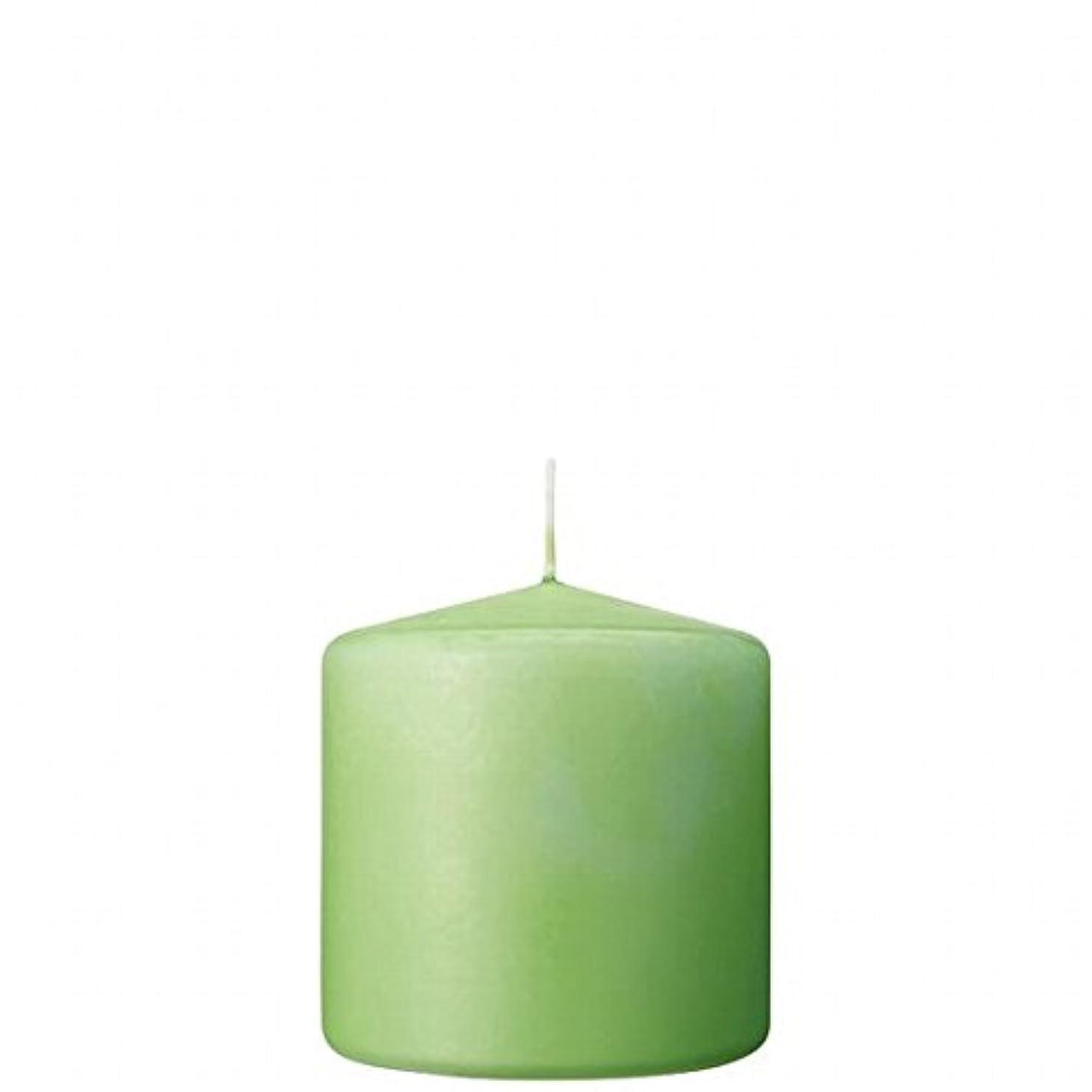 意気込み温度ベッツィトロットウッドカメヤマキャンドル(kameyama candle) 3×3ベルトップピラーキャンドル 「 ライム 」