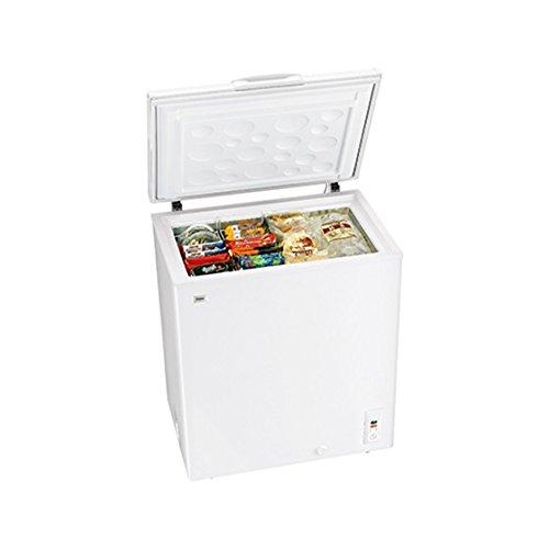 ハイアール145Lチェストタイプ冷凍庫(フリーザー)直冷式ホワイトHaierJF-NC145F(W)