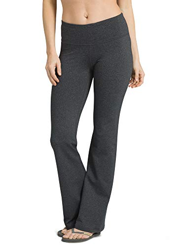 prAna Women's Pillar Pant - Short Inseam, Charcoal Heather, Small
