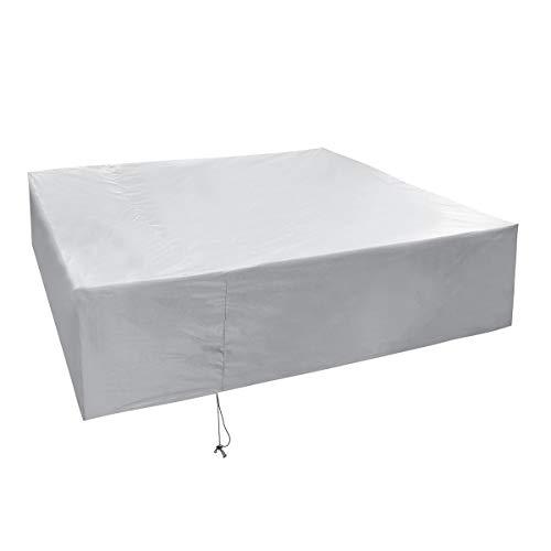 KINGDUO 220-250Cm Imperméable À l'eau Extérieur Patio Garden Meubles UV Rain Snow Cover Table Mat-6