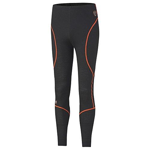 Helly Hansen Workwear, 75475, Multinorm Funktionsunterhose Fakse Pantaloni Mutande Lungo M, Nero