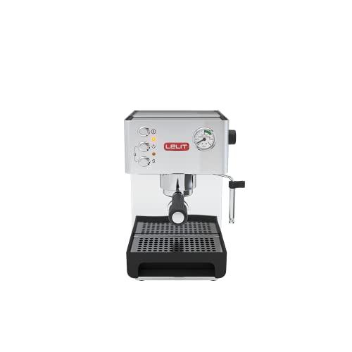 Lelit PL41EM Anna, Macchina da caffè semiprofessionale, 1050 W, 2.7 Litri, Acciaio Inossidabile, Argento