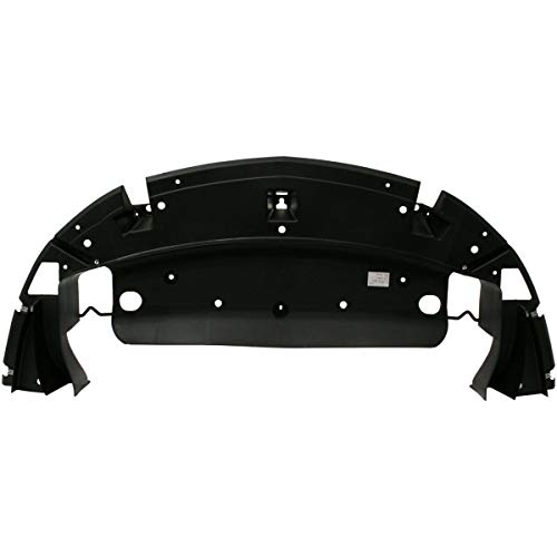 New Front Bumper Lower Valance For 2006-2013 Chevrolet Impala, 14-16 Chevrolet Impala Limited, Made Of Plastic, Excludes Police Models GM1007109