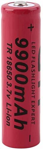 18650 baterías Recargables de Litio Batería de Litio 9900mAh Botones de Gran Capacidad Top Baterías Recargables Baterías 3 7V GIF 18650 Batería de batería de Ion Litio para la Linterna Insignia-PC 1