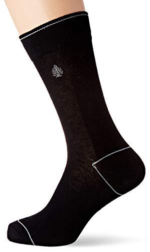 Springfield Bordado Logo Basico-c/01 Calcetines, Negro (Black 1), 38 (Tamaño del fabricante: M) para Hombre