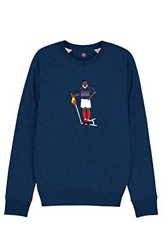 Le T-shirt Foot Sweat Thierry Henry France 98 Coton Bio. - 85% Coton Bio & 15% Polyester 300g/m2 buteur de la France en 1998 buteur de l'équipe de France désormais. Henry.