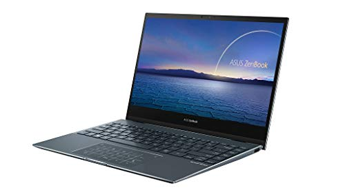 ASUS ZenBook Flip UX363JA 13.3' Full HD 300nits Touchscreen Convertible Laptop (Intel Core i5, 8 GB RAM, 512 GB PCIe SSD, Backlit Keyboard Windows 10) Ships with USB-C to Audio Jack Adapter