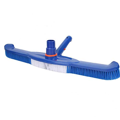 LjzlSxMF Piscina de la Cabeza del Cepillo Piscina de Limpieza de Herramientas de plástico de Succión para la Limpieza de Piscinas Suelos Paredes Azulejo Pasos 20 Pulgadas Durable
