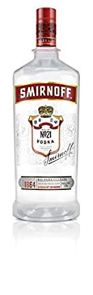 Vodka - Smirnoff Red Pet 1,75L