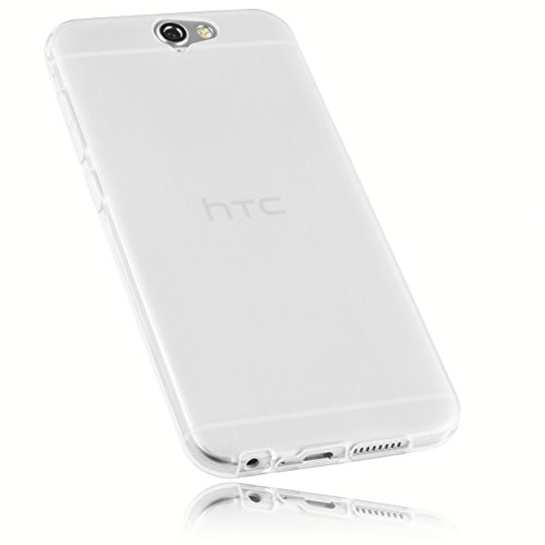 mumbi Hülle kompatibel mit HTC One A9 Handy Hülle Handyhülle, transparent weiss