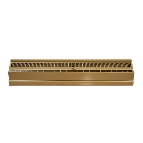 Accord 48' Brown Baseboard Register ABBBBR48