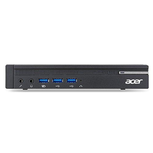 Acer Veriton N4640G Intel H110 LGA1151 3.2GHz i5-6400T PC de tamaño 1L Negro - Barebón (Intel H110, LGA1151, Core i5, Intel Core i5-6xxx, 2,2 GHz, i5-6400T)