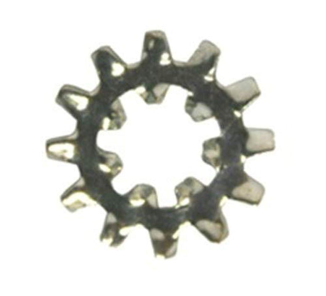 100 #10 Internal-External Combination Lock Washers Zinc