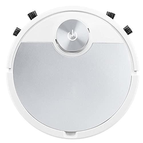 Mqwasd Aplicación De Teléfono Móvil Control Remoto Robot Aspirador Multifuncional Limpieza Automática De Limpieza Inteligente Aspiradora(Color:Plata Espacial)