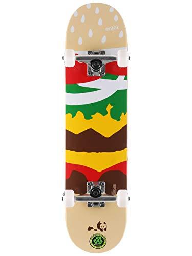 Enjoi Komplette Skateboards (18,7 cm, First Push - Burger Time)