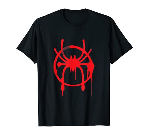 Marvel Spider-Man Into the Spider-Verse Red Icon T-Shirt