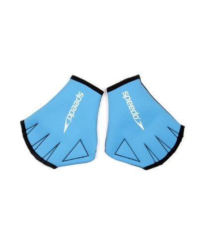 Speedo Unisex-Erwachsene Aqua Handschuhe, Blau, M