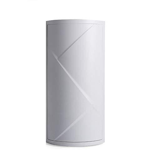 DQM Badkamer hoekkast plank driehoek, muur opknoping driehoek roterende berging, voor badkamer opslag, keuken opslag, toiletartikelen opslag. waterdicht, stofdicht, vocht