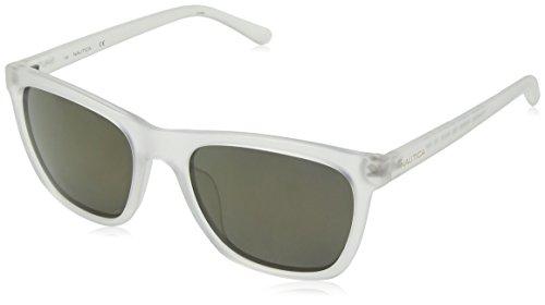Nautica Herren N3629Sp 909 56 Sonnenbrille, Transparent (Matte Crystal)