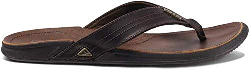 Reef Herren J-Bay Iii Flipflop, Dark Brown/Dark Brown, 47 EU
