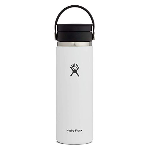 Hydro Flask Stainless Steel Coffee Travel Mug - 16 oz, White