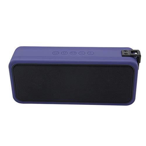 KDMB Barra de Sonido Altavoces, Barras de Sonido Dolby Atmos IPX7 Resistente al Agua 20H Standby Calidad de Sonido USB Incorporado y Ranura AUX de 3,5 mm 5V / 1A Carga inversa del teléfono