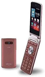 LG電子 LG Wine Smart LGS01 WINE RED 【J:COM MOBILE SIMフリー】