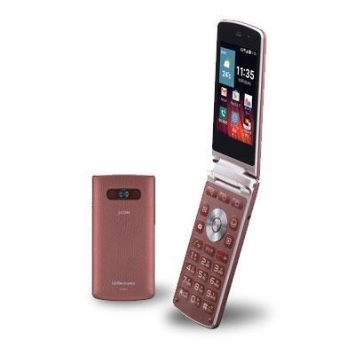 LG電子 LG Wine Smart LGS01 WINE RED 【J:COM MOBILE SIMフリー】