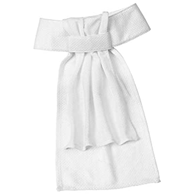 Ovation Drilex Dressage Stock Tie - Size:Medium Color:White by English Riding Supply