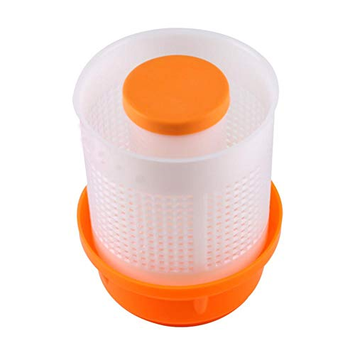 Lowest Prices! Vegetable Dehydrator Manual Squeeze Vegetable Sink Kitchen Tool (12.5×12.5cm / 4.92×4.92in)