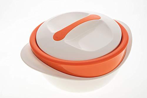Schulz-Haushaltwaren XXL 4 l 4,0 Liter Thermobehälter Thermoschüssel...