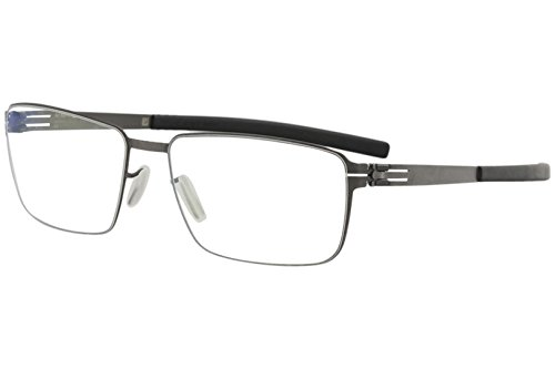 Ic!Berlin Eyewear Dr. Kauermann Graphite Black 55 NEW