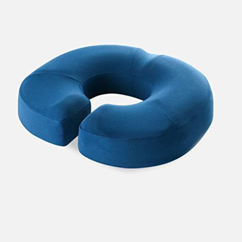 WLDQ Seat Cushion - Non-slip Memory Foam Cushion for Office Chair Car Seat Cushion - Sciatica & Back Pain Relief