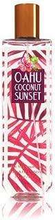 Bath and Body Works Oahu Coconut Sunset Fine Fragrance Mist 8 Ounce Orange Bottle