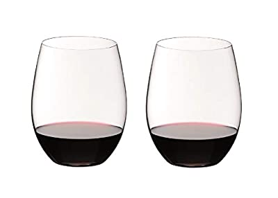 Riedel O Wine Tumbler Cabernet/Merlot, Set of 2 - 0414/0,Clear
