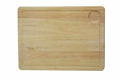 ADHW Meat Bread Pastry Cutting Hevea Wood Board Wooden Chopping Boards Kitchen (Size : Large (40 x 30 cm))