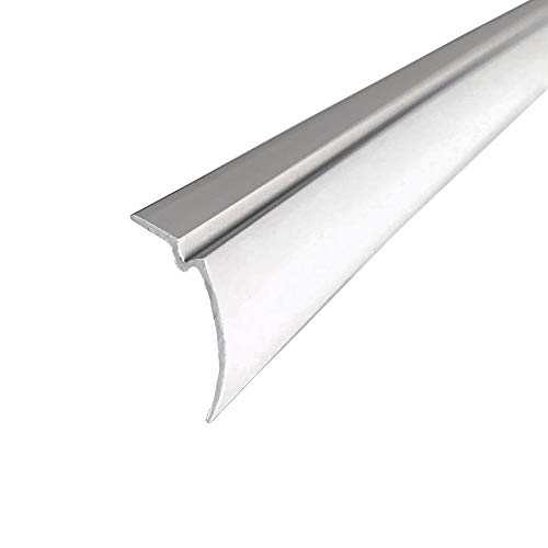 """STB Snap-In Glazing Vinyl, White, 72"""" Section - Pack of 3"""