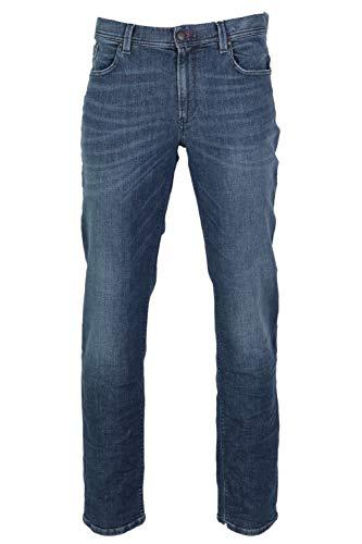 ALBERTO Herren Jeans Pipe Regular Slim fit 36/34