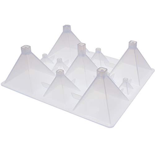 musykrafties Moule en silicone pyramide carrée 11 cavités