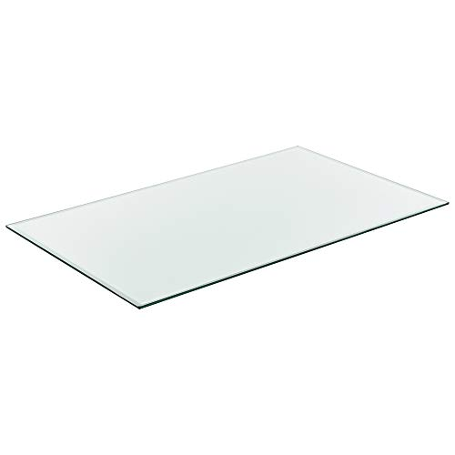 [Neu.Haus] Tablero de Vidrio para Mesa de Centro para Mesa de Comedor Placa Inferior para Chimenea Vidrio Templado 1000 x 620 mm