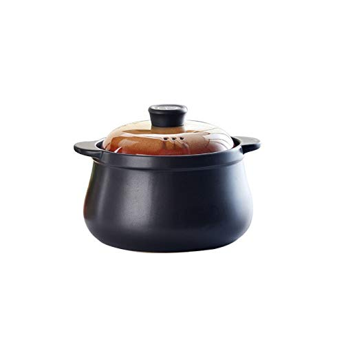 CJTMY Gas cerámicos de Uso doméstico Sopa de Olla de cazuela Sopa de Olla de Fuego a Prueba de Calor Hotpot de Cocina Utensilios de Cocina Olla