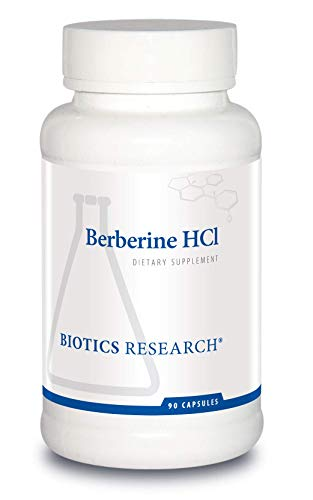 Biotics Research Berberine HCl – Botanical Supplement, Provides Support for Existing Healthy Blood Sugar and Insulin Levels, Supports Healthy Cholesterol