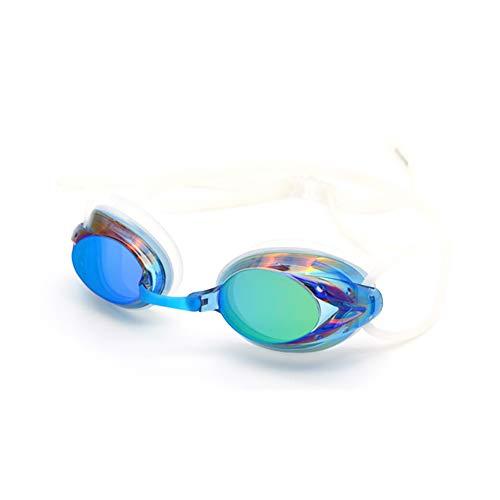 DierCosy Gafas De Natación, Espejo De Capacitación Gafas, contra La Niebla UV Protección Ningún Escaparse con El Caso La Protección para Hombres, Mujeres Y Juventud