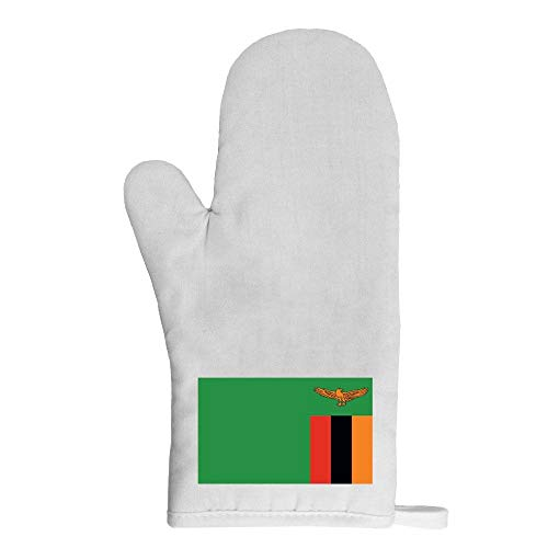 Mygoodprice Ofenhandschuh Topflappen Flagge Sambia