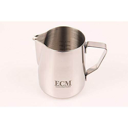 Milch-Kännchen 0,6 l aus Edelstahl mit Logo von ECM