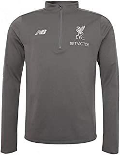 Liverpool New Balance Grey Hybrid Sweater 2018/19 (Adults)-2X-Large