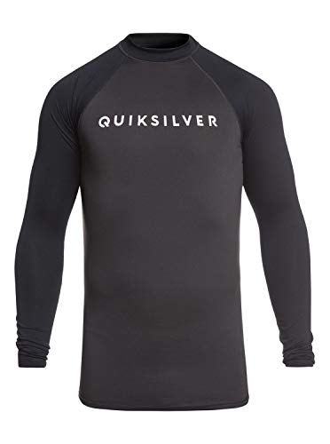 Quiksilver Always There Lycra Manches Longues UPF 50 Homme, Tarmac, FR : M (Taille Fabricant : M)