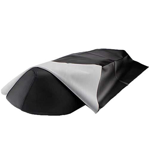 Aurely Motorstoelhoezen, universeel leer, stoelbeschermer, scooter, stoelbekleding, slijtvast, waterdicht, 70 x 100 cm