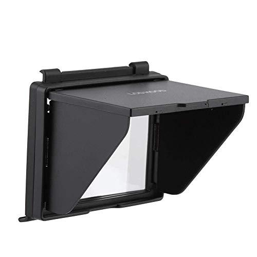 Zengkei Profesional Parasol Pantalla LCD Filtro, Cámara Pantalla LCD Carcasa Protectora, Sombrilla Capucha Sol Escudo Cubierta Compatible Con Nikon D500 Cámara Para Exterior