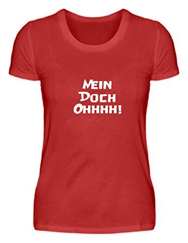Nein! Doch! Ohhhh! - Louis De Funès, Film, Kultfigur, Schauspieler, Komiker, Französisch - Damenshirt -XL-Rot